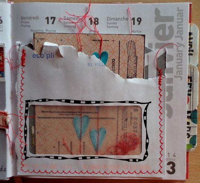 #PaperCraft Idea: upcycle window envelopes -----Annabel Fayolle