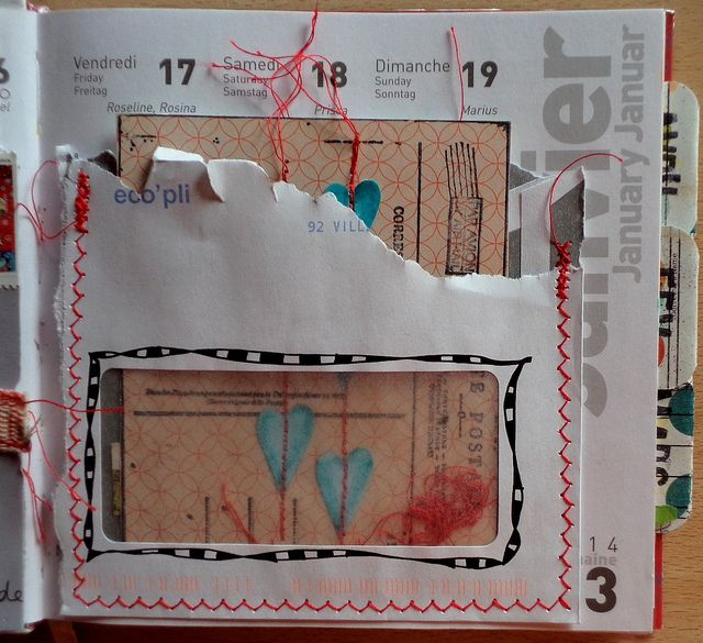Paper Craft Idea: upcycle window envelopes -- Annabel Fayolle