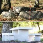 Gemeente bouwt picknicktafel op 6.000 jaar oude neolithische graftombe