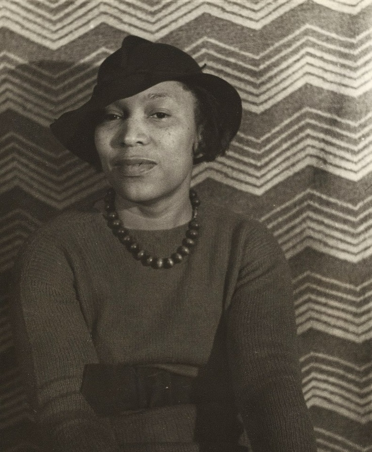 "Zora Neale Hurston -January 7, 1891 - January 28, 1960) She was an American folklorist, anthropologist, and author during the time of the Harlem Renaissance. Here's a great clip of her singing   a traditional American Folk Song ""Mule on the Mount"" (1939)"