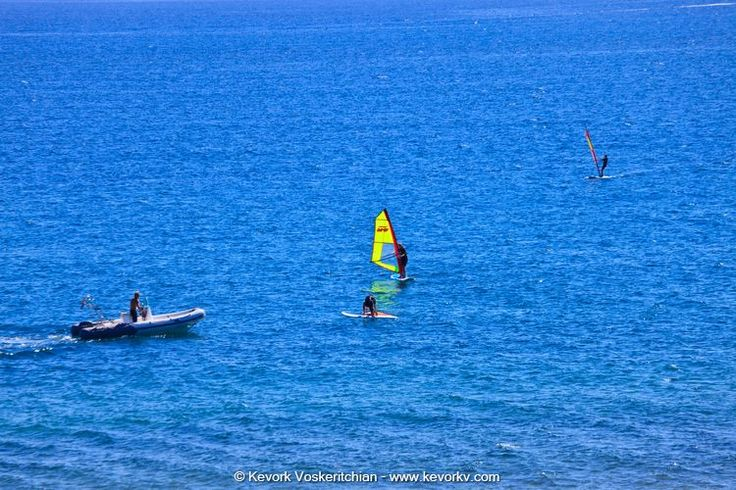 Sporting things you can do In Corfu - Wind & Kite Surfing