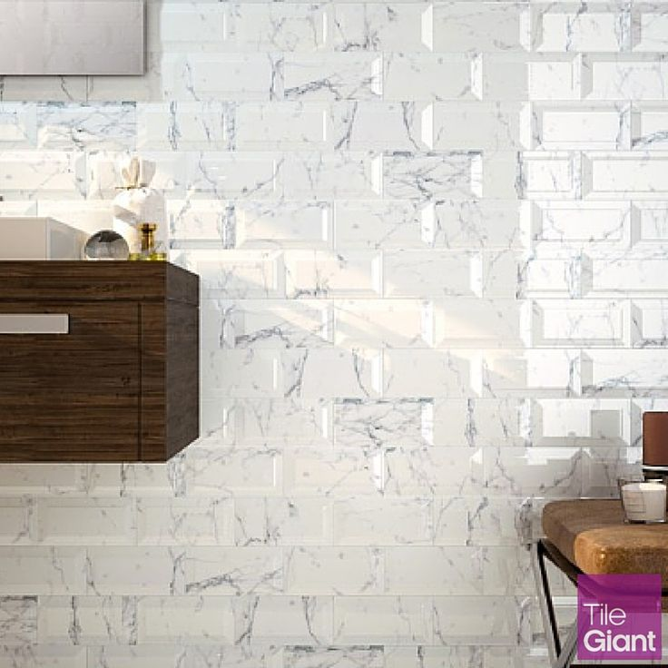 Create a more glamorous bathroom or kitchen with Bisel tiles. A modern…