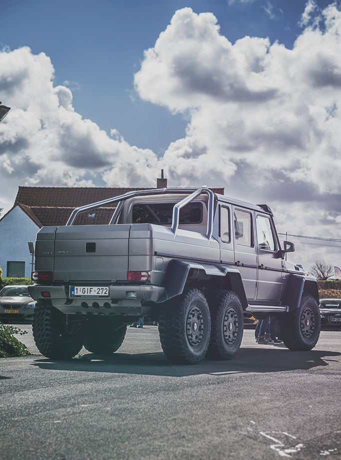 Mercedes g class 6x6 mercedes benz pinterest for Mercedes benz 4x4 g class