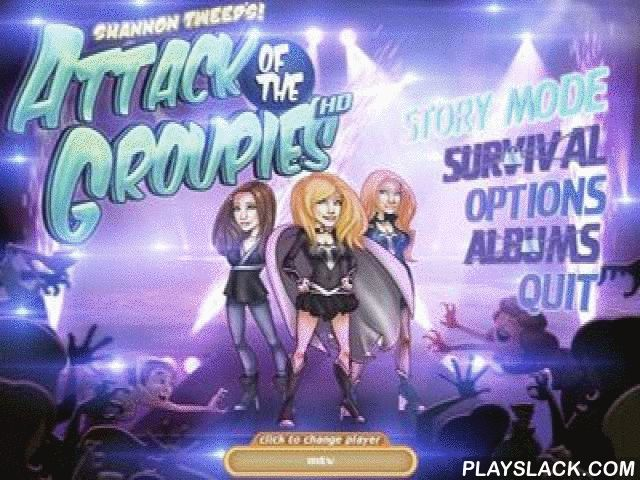 Attack Of The Groupies  Android Game - playslack.com , Attack of the Groupies is a special structure defense game, in which you will have to safeguard sound stars Shannon Tweed-Simmons and Sophie Tweed-Simmons from their devices. The game has good graphics, excellent sound and much feeling.The game requires a cache download. How to put the game with the cache?The way for the cache: sdcard/Android/obb