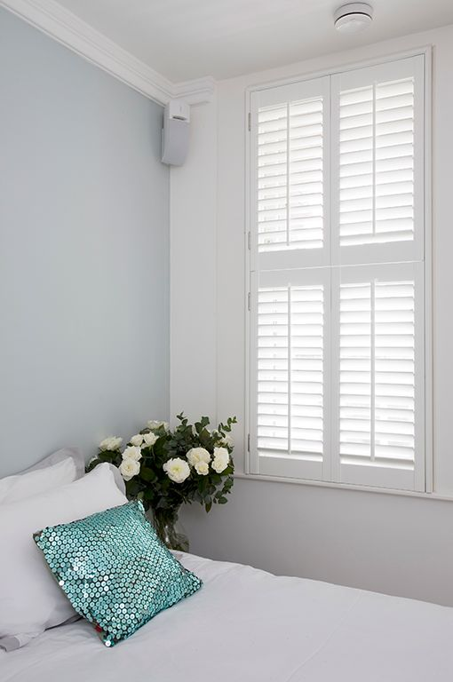 #Tier on tier #shutters by #PlantationShutters London UK