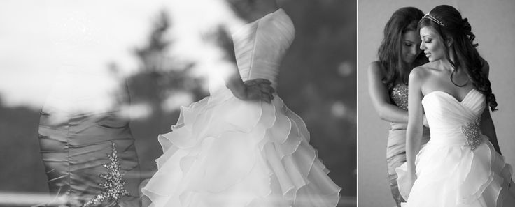 Bride getting ready at Copper Creek Kleinburg