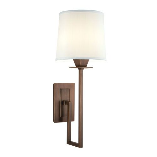 Maya Architectural Bronze One Light Wall Sconce Norwell 1 Light Armed Candle Wall Sconces