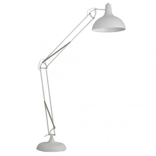 Zuiver Vloerlamp Office wit 190cm