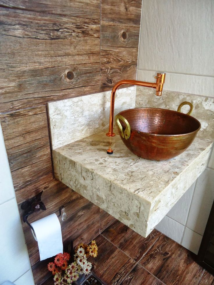 banheiro rustico - Pesquisa Google