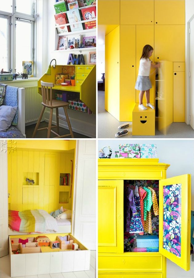 love the desk childrens room play room storage yellow room
