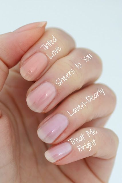 Essie Treat Love & Color : Treat Me Bright, Laven-Dearly, Sheers To You & Tinted Love | Essie Envy