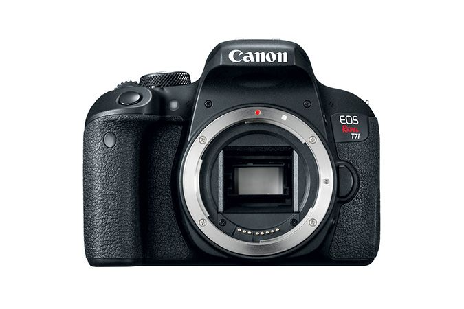 EOS Rebel T7i | Canon Online Store