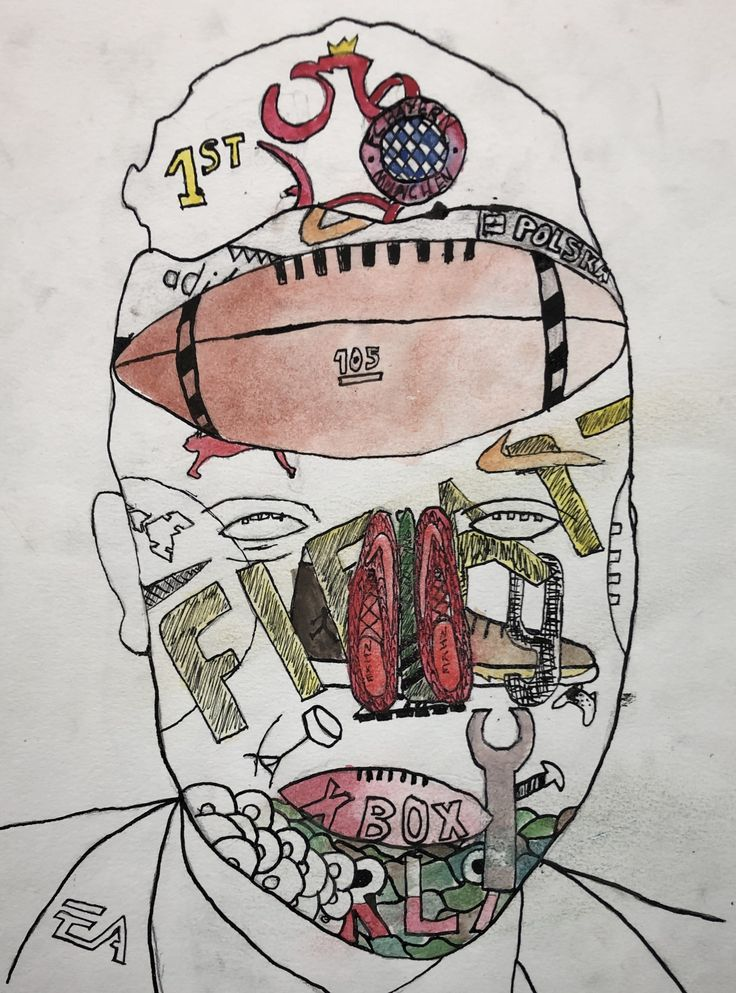 Y8 Arcimboldo style drawing Student work, Drawings, Student