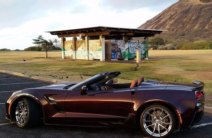 2017 Black Rose Metallic C7 Z-06  Corvette convertible