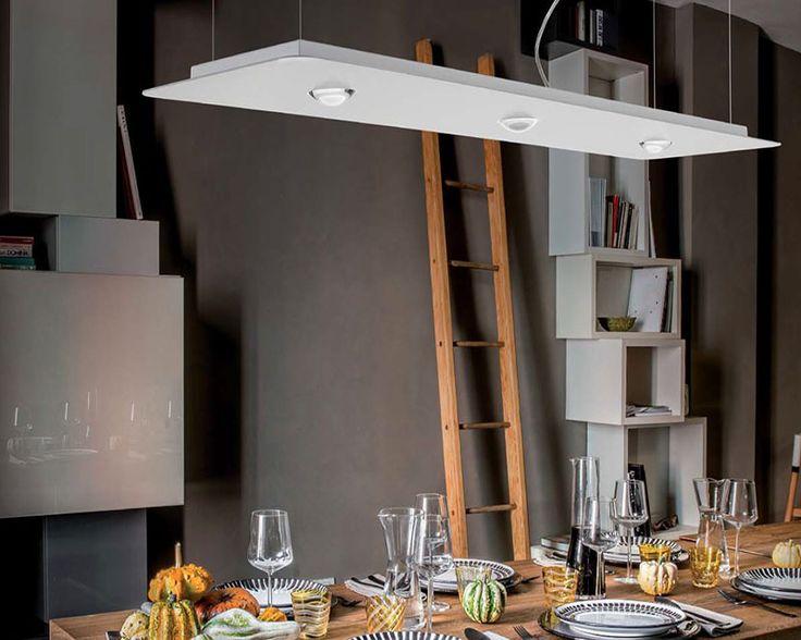 FROZEN LONG Sospensione LED Dimmerabile Studio Italia Design