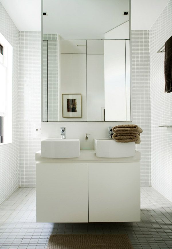 Tribe studio via the design files b a t h r o o m for Hidden bathroom pics
