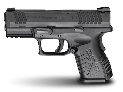 Springfield Armory XDM compact, .45 caliber.  SA guns are very reliable.