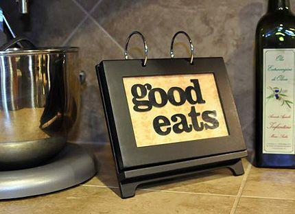 DIY Recipe Flip Book: Diy'S, Flip Books, Gift Ideas, Recipe Flip, Gifts, Recipe Books, Craft Ideas, Classy Cookbook