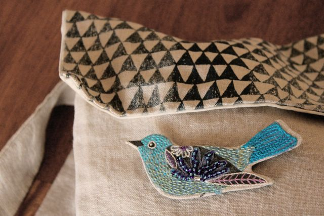 amazing bird brooches! love this woman.