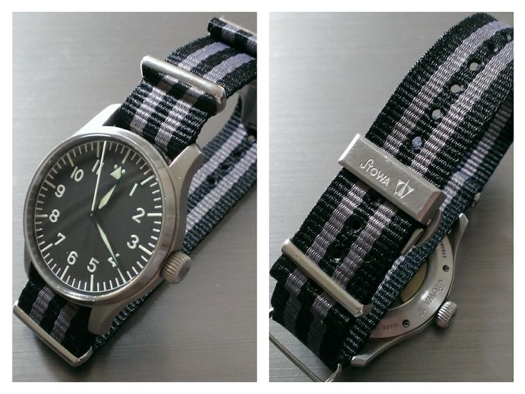 "Stowa Flieger with nato strap ""007"""