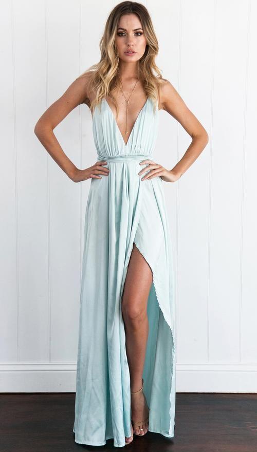 Two Vines Dress (Blue)