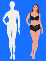Just HOW Skinny Are Store Mannequins? #refinery29