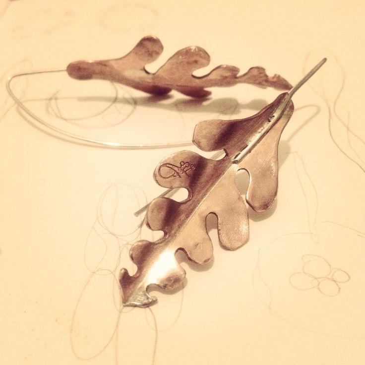 Aros cobre y plata anticlastic