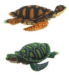 Beaded turtles