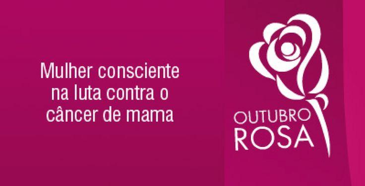 Maria Bonita e Poesia: Outubro Rosa campanha do câncer de mama