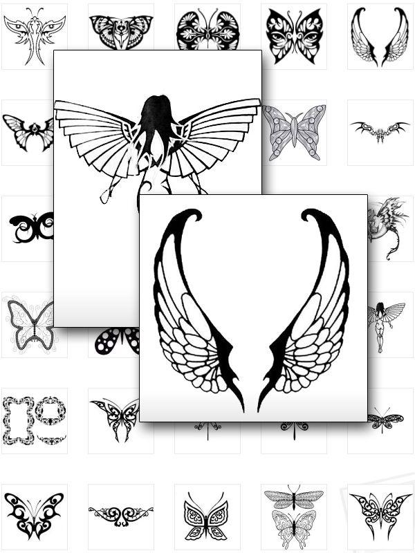 Tribal Butterfly Tattoos http://payspree.com/1146/satelitetv