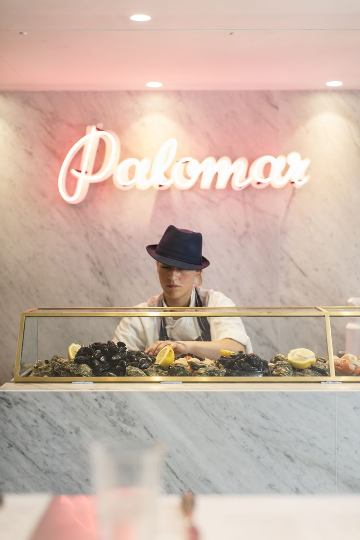 The Palomar Restaurant,The Palomar serves the food of modern day Jerusalem. At the front of the restaurant is our 16 seat zinc Kitchen Bar that overlooks the Chefs.