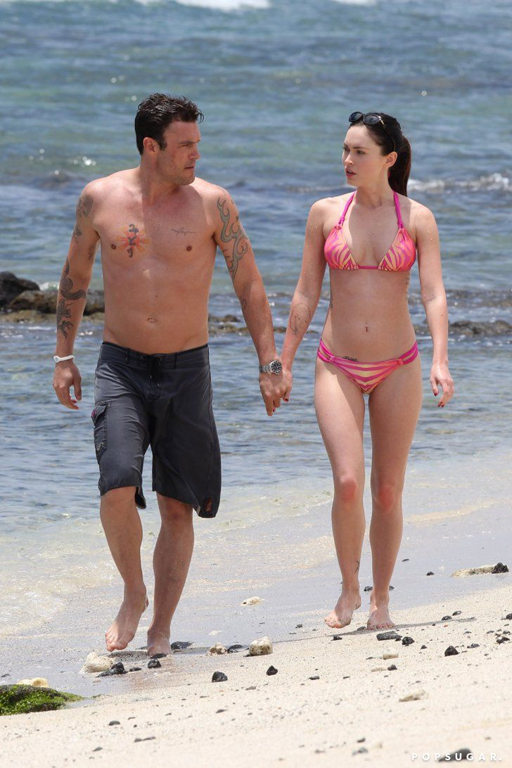 Pin for Later: Megan Fox and Brian Austin Green's Sweetest, Sexiest Moments  Brian and Megan enjoyed a day at the beach together in Hawaii back in June 2011.