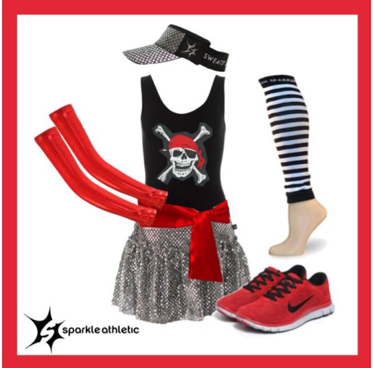 pirate running costume idea #2 for frozen pirate booty 5k