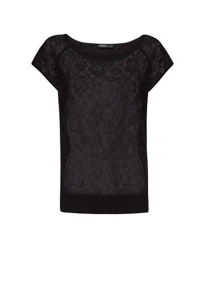 MANGO - Kanten T-shirt