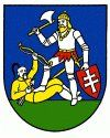 """The coat-of-arms of Nitra is among a group of seals from counties whose """"hereditary"""" counts were bishops, and therefore are dominated by a hagiographic theme. The current Coat-of-arms refers to one of several medieval legends surrounding St. Ladislaus, who was King of Hungary in 1077-1095. In this legend, he rescues a princess from the pagan Cumans, a local version of the story of St. George, the patron saint of knights, who saves a princess from a dragon, the embodiment of the devil and…"""