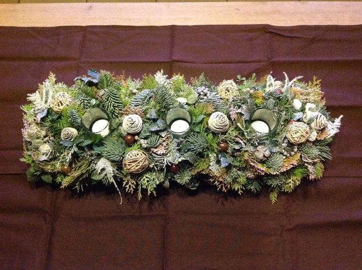 Kerststukken 2012