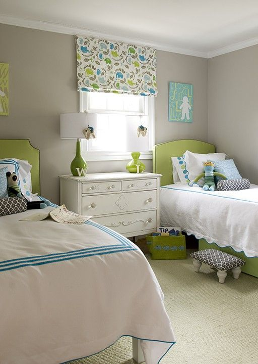 Check out these 25 awesome shared rooms that we collected. There are plenty ideas for girls and boys!