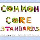 My principal loves these!  Post the Common Core standards daily in your third grade classroom with these uniquely illustrated posters designed for ...