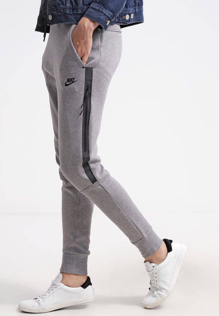 Femme Nike Sportswear TECH FLEECE - Pantalon de survêtement - grijs gris: 60,00 € chez Zalando (au 30/04/16). Livraison et retours gratuits et service client gratuit au 0800 740 357.