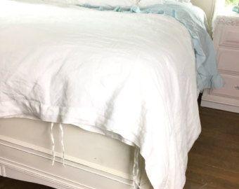 Luxury Linen Throw Blanket Black Belgian Linen Lightweight