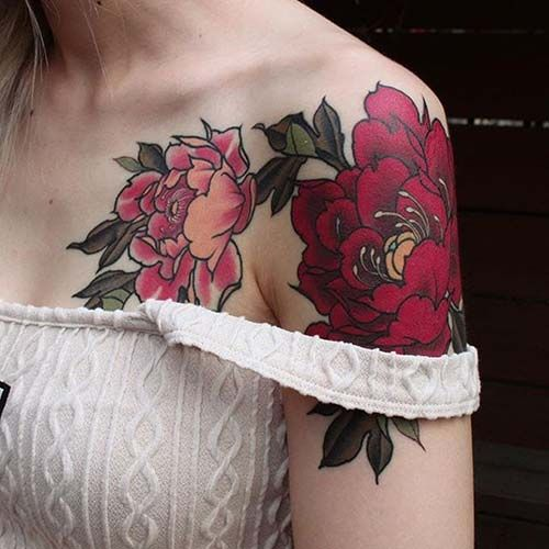 Tattoo For Womens Shoulder: 25+ Beautiful Women Shoulder Tattoos Ideas On Pinterest