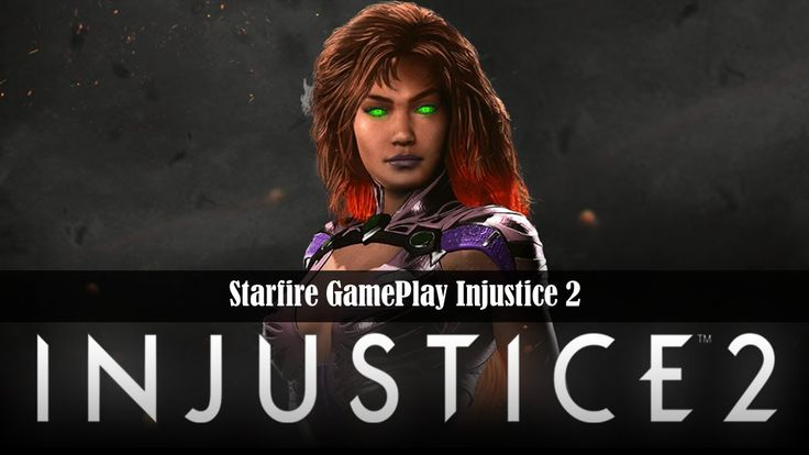 Starfire GamePlay Injustice 2 NetherRealm got crazy fresh with this one. I am going to love playing some of these new characters they are pumping out.  https://gamersconduit.com/starfire-gameplay-injustice-2/