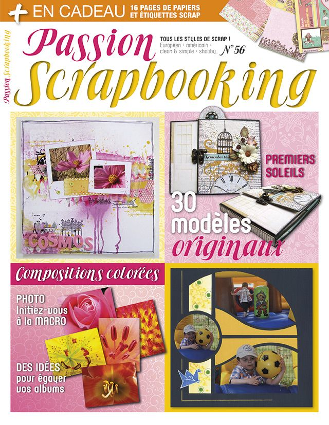 Passion Scrapbooking n°56