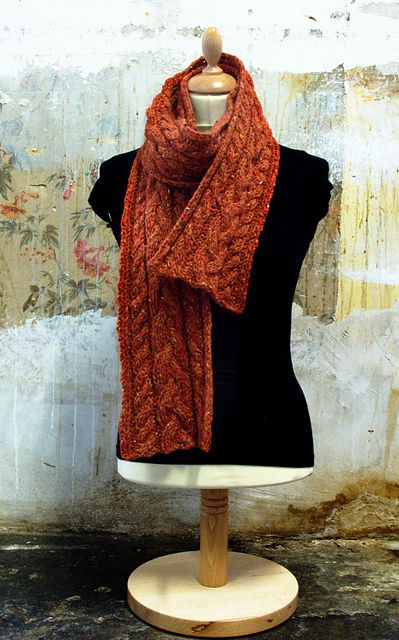 Braidheart (cable scarf): Fast Knit, Knitting Patterns, Braidheart Pattern, Knitting Crochet Ideas, Chunky Free