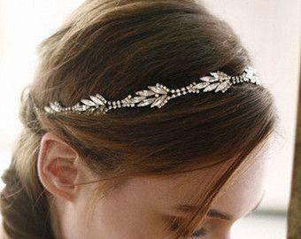 Hochzeit Stirnband Kopf Braut Stirnband von SpecialTouchBridal