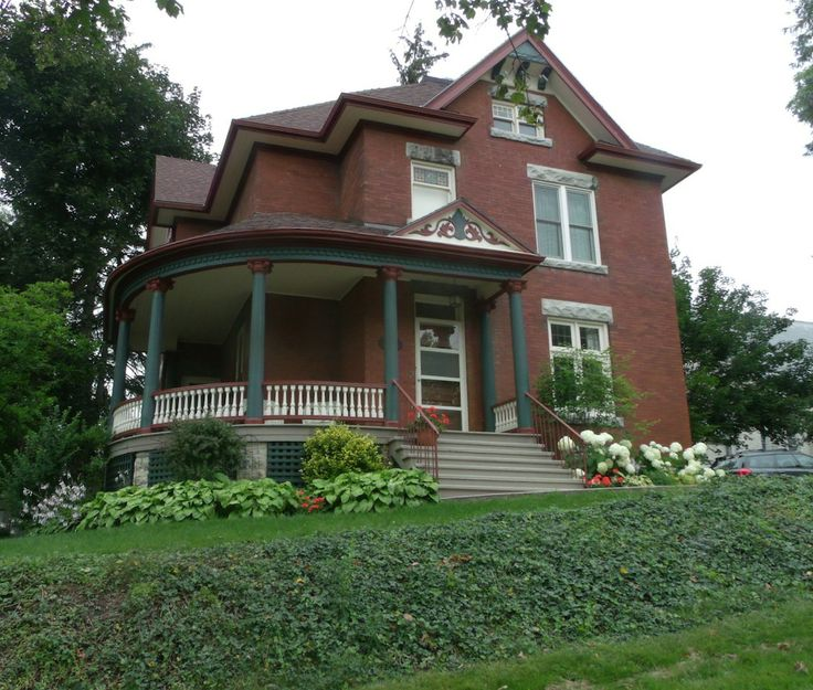 Porches Wrap Around Porches And Victorian On Pinterest: 7 Best Victorian Brick Paint Colors Images On Pinterest