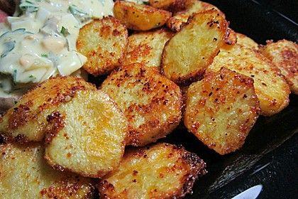 Amerikanische Parmesankartoffeln, im Ofen gebraten 3