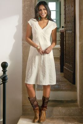 Angelica Gauze Dress from Soft Surroundings