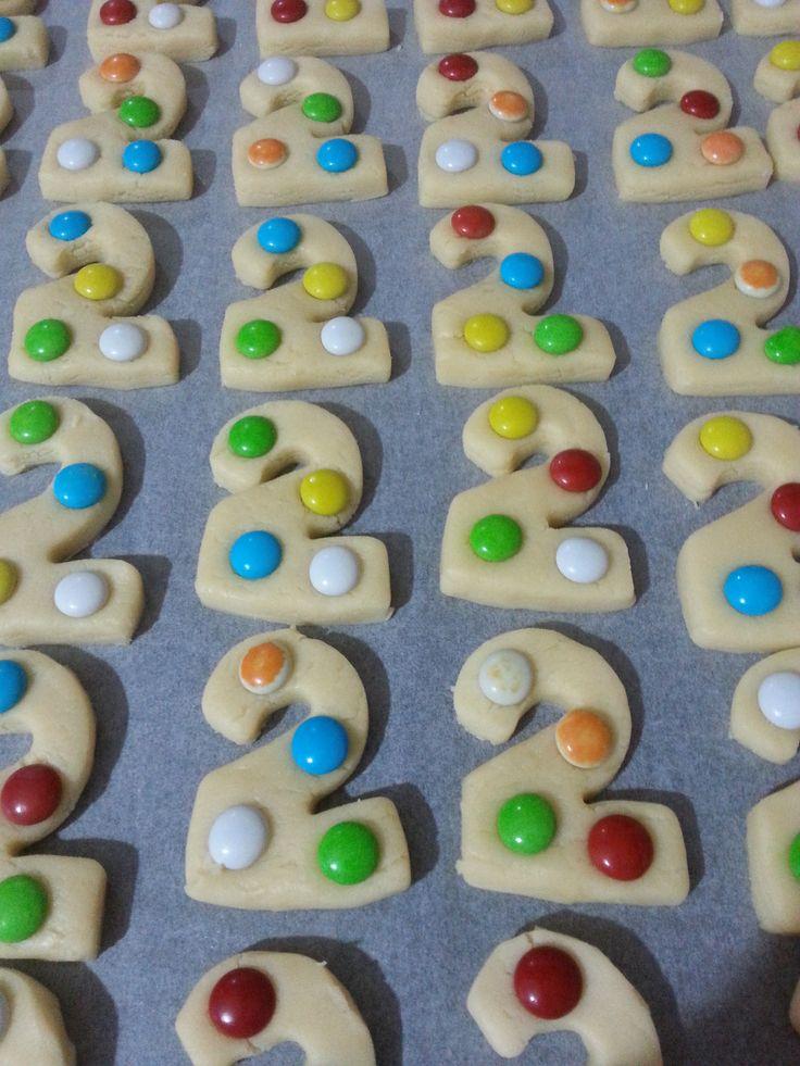 Zeynep Ela'nın 2 yaş kurabiyeleri