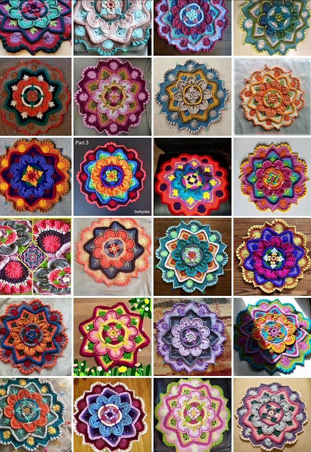 Ravelry: azkikn's Mandala Madness                                                                                                                                                     More